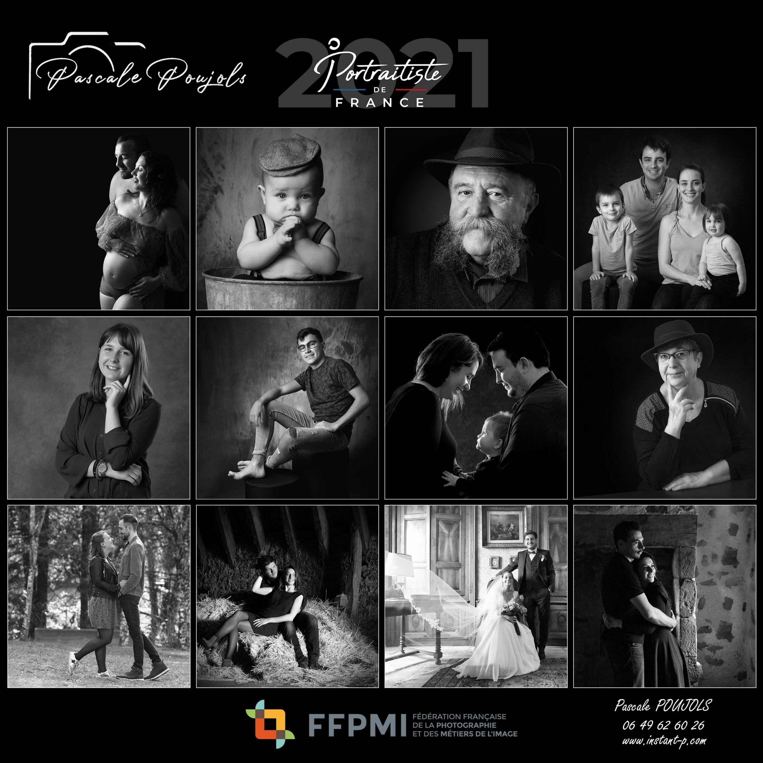 Portraitiste de France 2021 - Pascale POUJOLS Aurillac Cantal